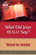 Dawah Books: What Did Jesus Really Say?