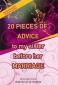 Islamic book - 20 Pieces Of Advice to my sister before her Marriage